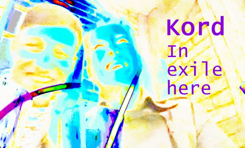 Kord - In exile here cover 1